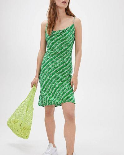 Шелковое платье - зеленое Arket
