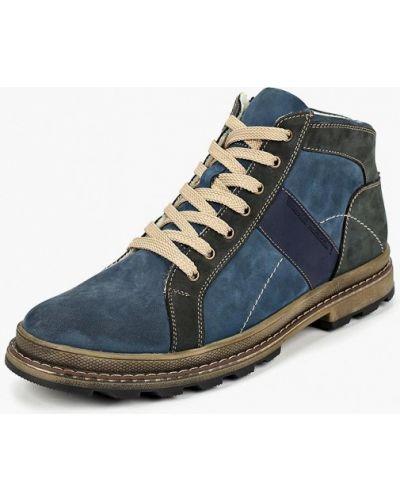 Ботинки осенние из нубука Id! Collection