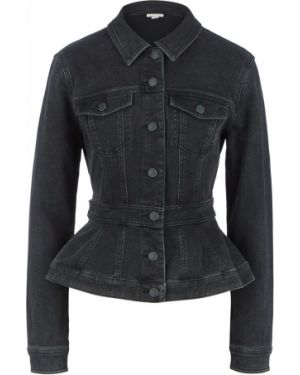 Джинсовая куртка черная Miss Sixty