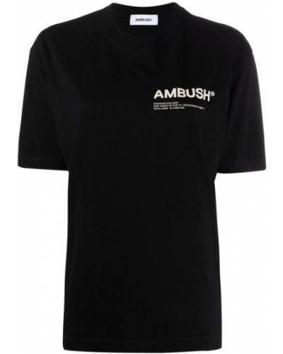 Czarna koszulka Ambush