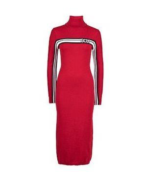 Повседневное платье красный Gcds
