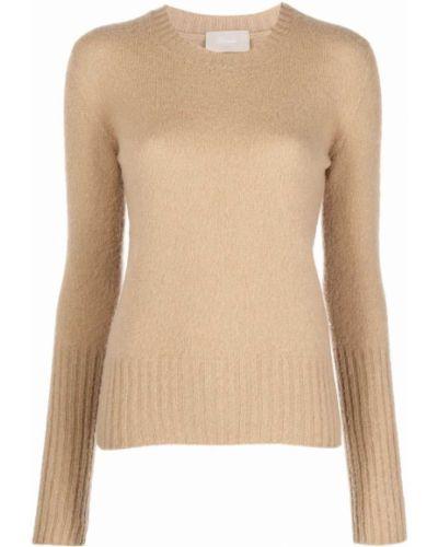Шерстяной свитер - коричневый Drumohr