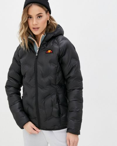 Черная утепленная куртка Ellesse