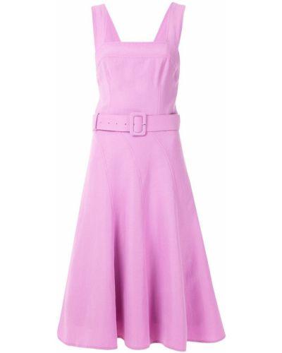 Приталенное платье миди - сиреневое Tufi Duek
