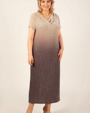 Вечернее платье платье-сарафан из вискозы милада