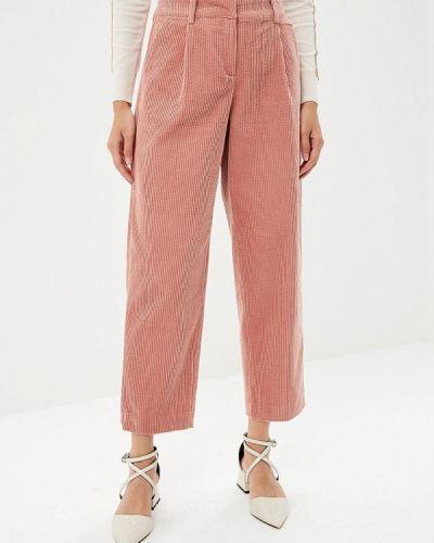 Розовые брюки повседневные Ichi