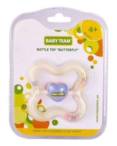 Розовая бабочка с бабочкой Baby Team