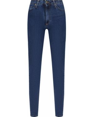 Зауженные джинсы-скинни с карманами с пайетками на пуговицах Gender Denim