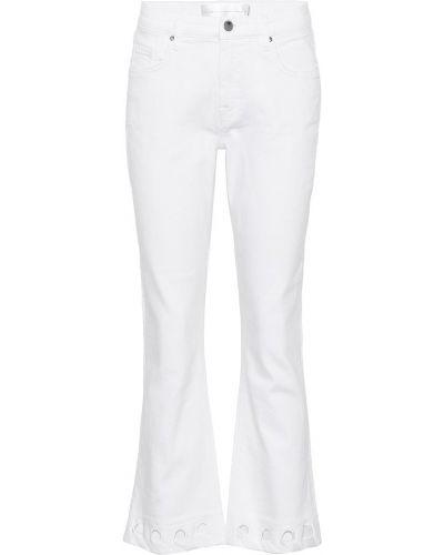 Расклешенные джинсы укороченные mom Victoria Victoria Beckham