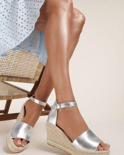 Sandały srebrne Renee