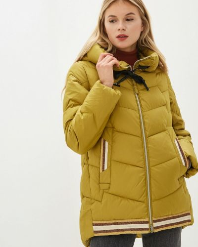 Утепленная куртка - желтая Clasna