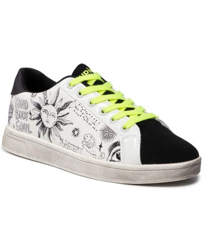 Sneakersy - białe Desigual