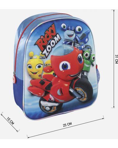 Plecak materiałowy - niebieski Ricky Zoom