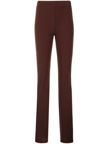 Красные расклешенные брюки с поясом с высокой посадкой G.v.g.v.