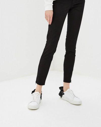 Черные брюки зауженные Liu Jo