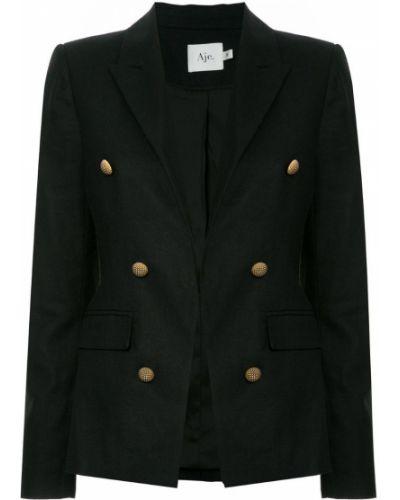 Черный пиджак на пуговицах Aje