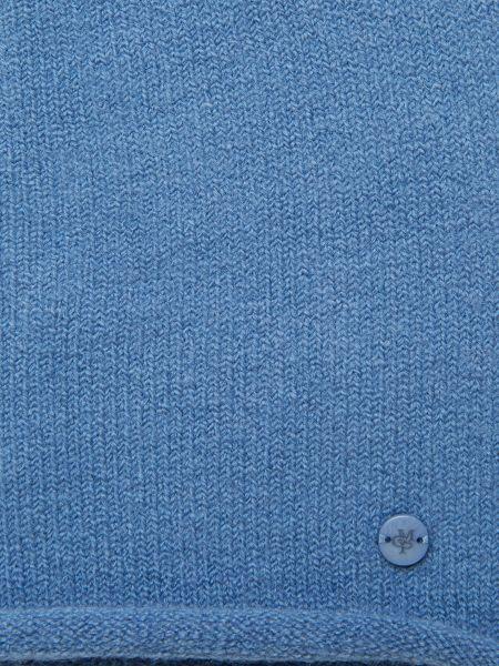 Синее хлопковое поло Marc O'polo