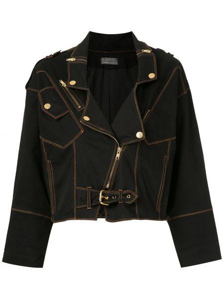 Черная короткая куртка Amapô