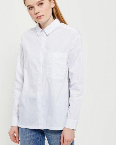 Белая блузка Lacoste