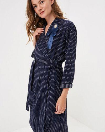 Платье с запахом осеннее Maison De La Robe