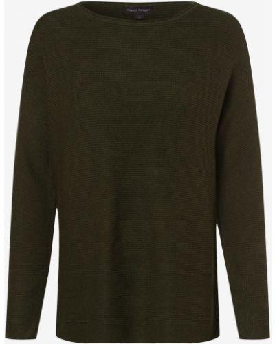 Zielony sweter dzianinowy Franco Callegari