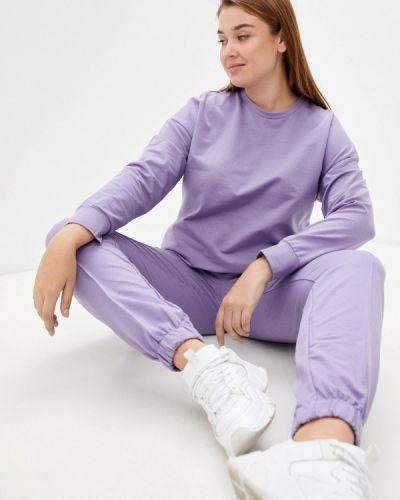 Фиолетовый спортивный спортивный костюм Hey Look