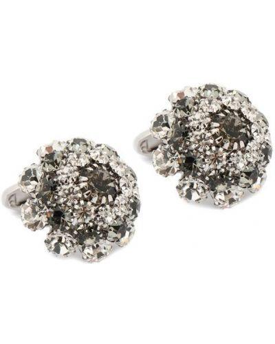 Запонки из серебра серебряного цвета Dolce & Gabbana