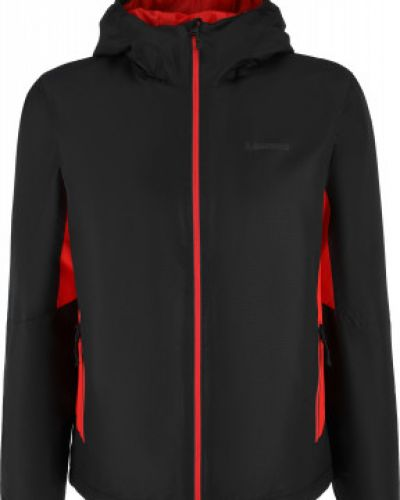 Спортивная черная утепленная куртка с капюшоном Madshus