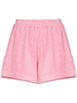 Ватные хлопковые розовые шорты All Things Mochi