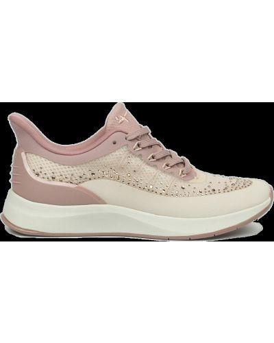 Кроссовки со стразами - розовые Tamaris