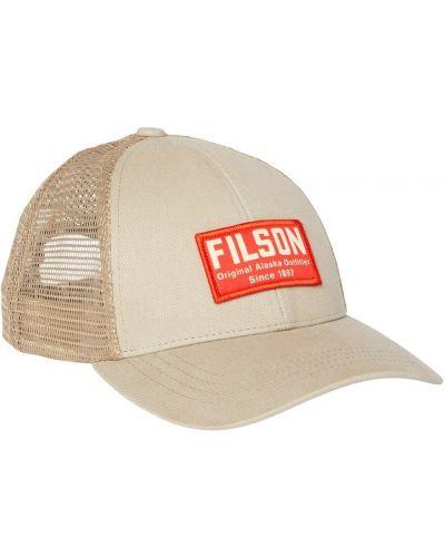 Zielona czapka z siateczką Filson