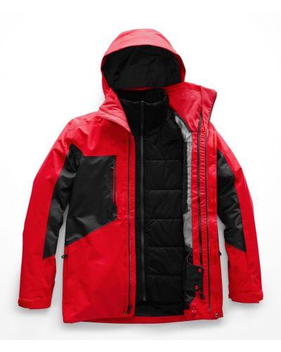 Красная куртка горнолыжная The North Face