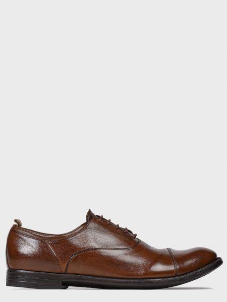 Кожаные туфли - коричневые Officine Creative