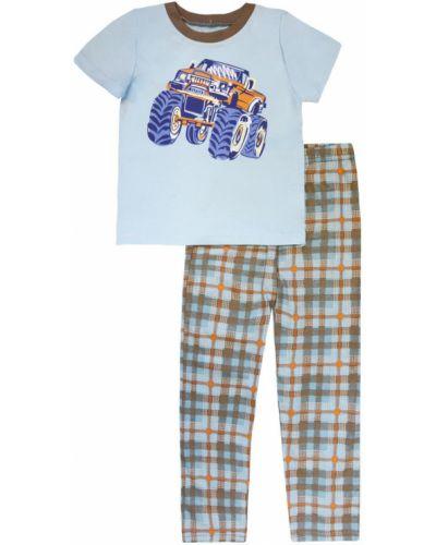 Брюки пижамные хлопковые котмаркот