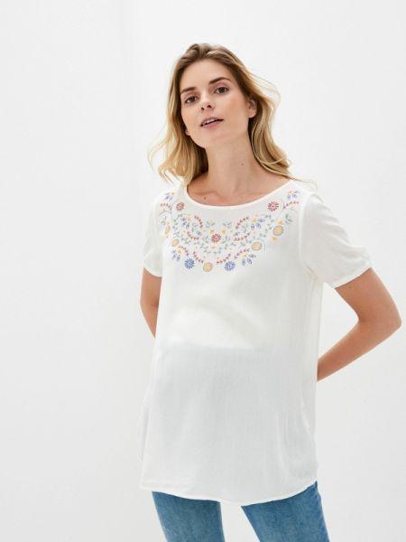 Турецкая белая боди-блуза весенняя блузка Lc Waikiki