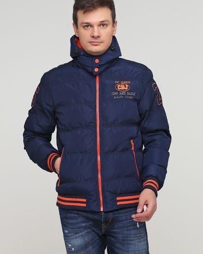 Утепленная куртка - синяя Cipo & Baxx