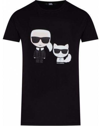 Футболка черная Karl Lagerfeld