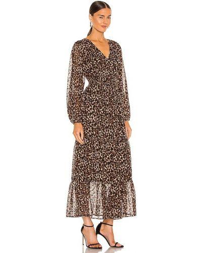 Brązowa sukienka długa Sanctuary