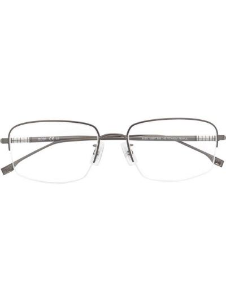 Okulary srebrne Boss