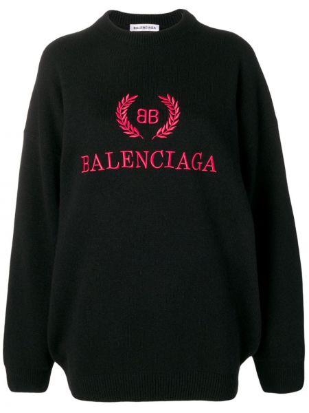 Свитер кашемировый длинный Balenciaga
