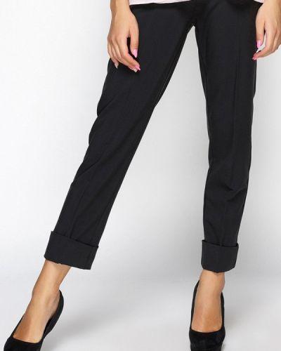 Черные классические брюки с карманами Zubrytskaya