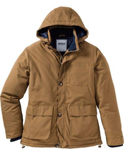 Куртка с капюшоном на молнии Bonprix