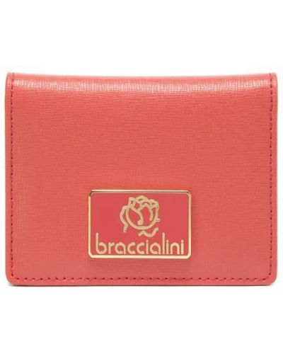 Визитница красная Braccialini