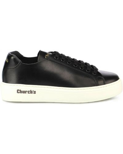 Czarne sneakersy Churchs