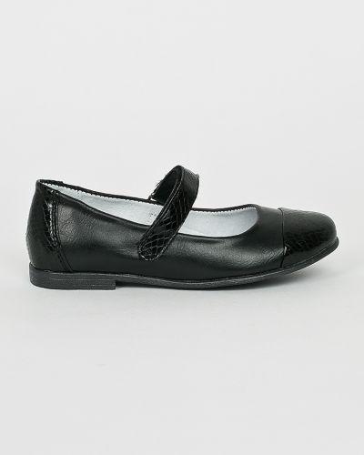 Черные балетки Kornecki