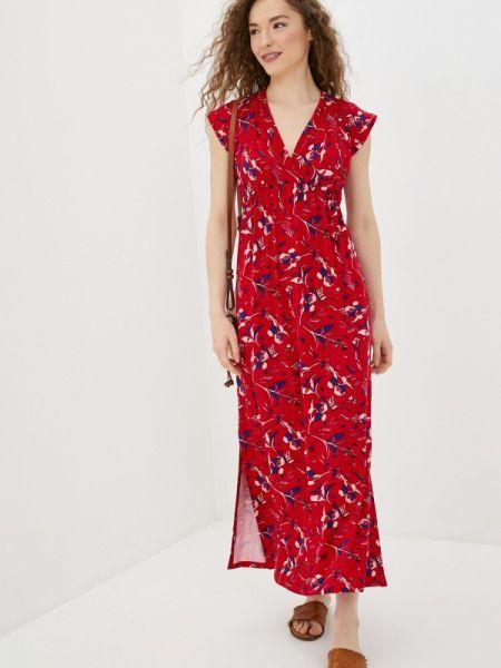 Платье прямое красный Envie De Fraise