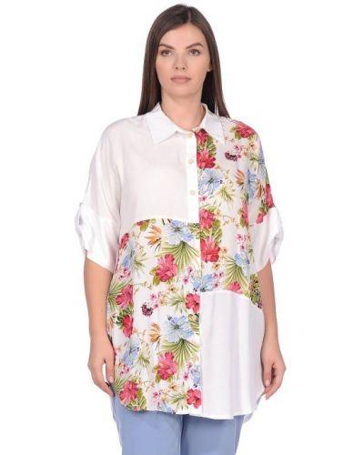 Повседневная блузка с воротником из вискозы Blagof