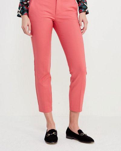 Розовые зауженные брюки Mango