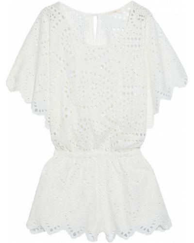Biały kombinezon bawełniany Eberjey