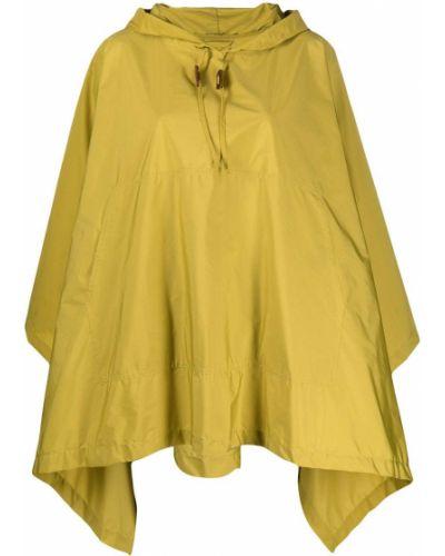 Желтый нейлоновый кейп с капюшоном Mackintosh